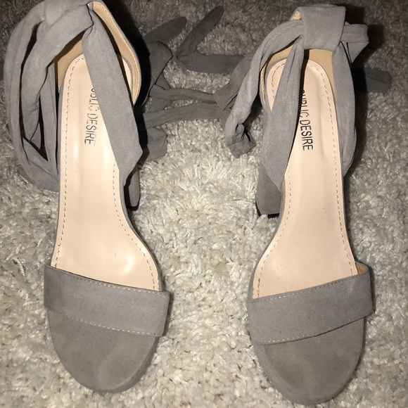be51b697369 ... Faux Suede Heels. M 5bbf06696a0bb78a4491f985